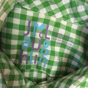 J. McLaughlin Tops - J.McLaughlin Gingham Check cotton oxford 4
